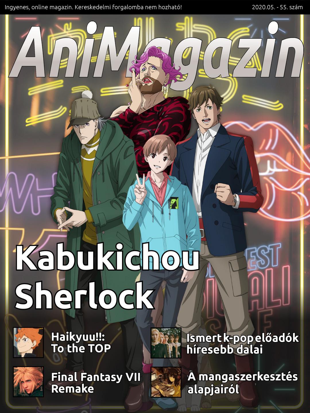 AniMagazin 55 címlap